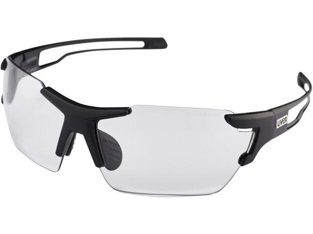 UVEX Sportstyle 803 V Sportsbriller small, black mat/smoke